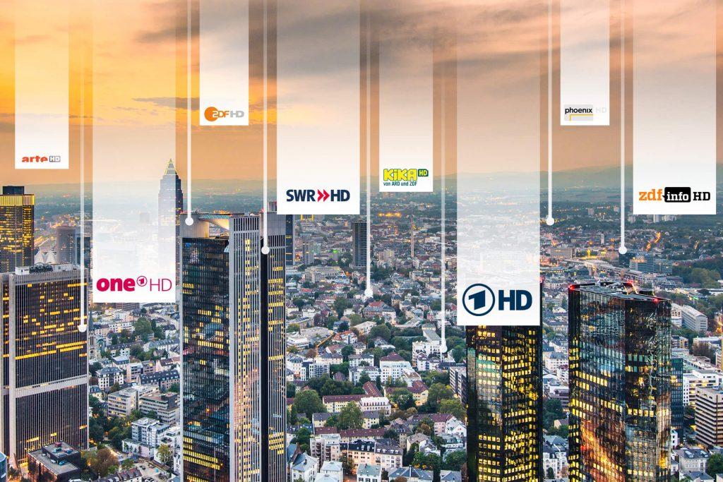 Skyline TV Sender öffentlich rechtlich